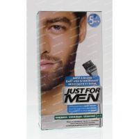 Just For Men Snor en baard donker bruin m45 24 g