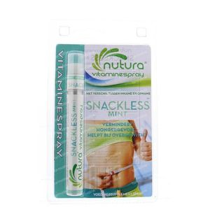 Vitamist Nutura Snackless mint blister stuk