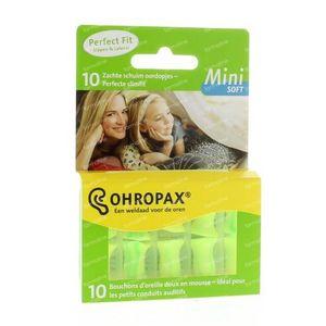 Ohropax Soft geluid mini 10 Stuks