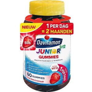 Davitamon Junior gummies multi 60 Stuks gummies