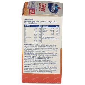 Davitamon Extra energie bosvruchten 40 stuks Kauwtabletten