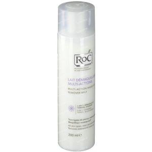 Roc Lait Démaquillant 3 En 1 Multi-Actions Présenté GRATUIT 200 ml