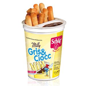 Schär Milly Gris & Ciocc GRATIS Aangeboden 52 g