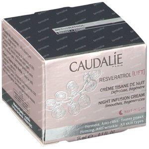 Caudalie Resveratrol Cream Night Tea Ofrecido GRATIS 15 ml