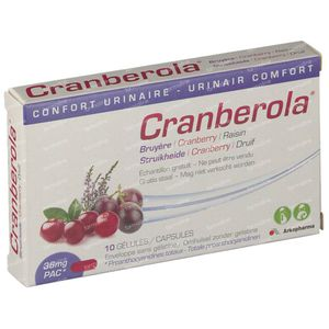 Cranberola FREE Offer 10 items capsules