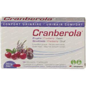 Cranberola GRATIS Aangeboden 10 stuks capsules