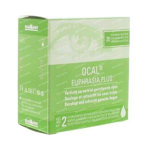 Ocal Euphrasia Plus Présenté GRATUITEMENT 20x0,4 ml unidosis