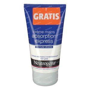 Neutrogena Crème Mains Absorption Express Présenté GRATUIT 75 ml
