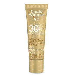 Louis Widmer Sun Protection Face Anti-Ageing SPF30 FREE Offer 10 ml