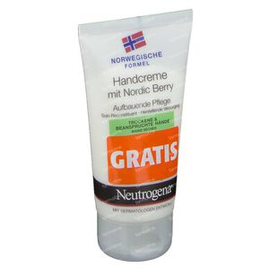 Neutrogena Handcreme Mit Nordic Berry GRATIS Angeboten 75 ml