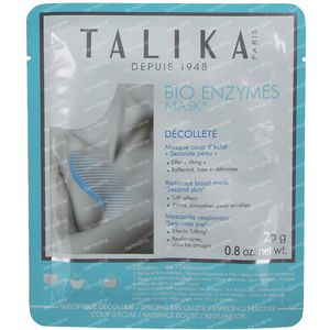 Talika Bio Enzymes Masker Décolleté GRATIS Aangeboden 1 stuk