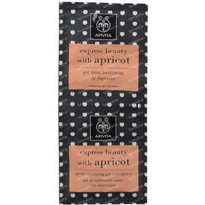Apivita Express Sanfte Peeling Gel Mit Aprikosen GRATIS Angeboten 2x8 ml