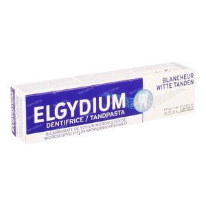 Elgydium weiße Zähne Zahnpasta GRATIS Angeboten 75 ml