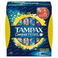 Tampax Tampons compak pearl regular 18 Stuks