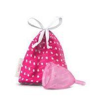 Ladycup Menstruatie cup pink maat L 46 mm 1 stuks