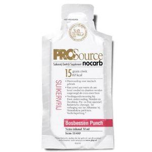 Prosource Nocarb bosbessen punch proefpakket 42 zakjes