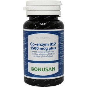 Bonusan Co-Enzym B12 1500 mcg plus 180 stuks Tabletten