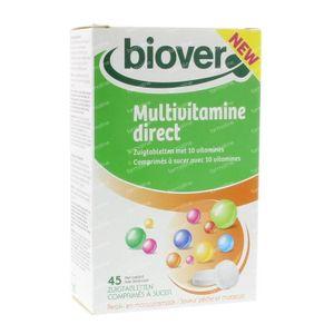 Biover Multivitamine direct 45 stuks Zuigtabletten