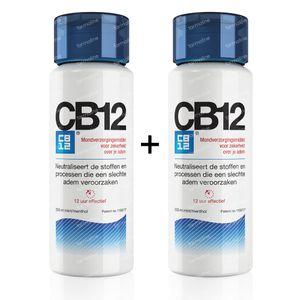 CB12 Slechte Adem 12u Mondspoeling Promo Duopack 500 ml