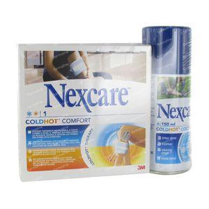 Nexcare 3M Coldhot Comfort 26.5cm x 10cm + Free Coldhot Spray 1 item