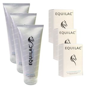 Equilac Promopack 3x60 Caps + 3x Bodycream item