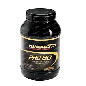 Performance Pro 80 Chocolate 2 kg