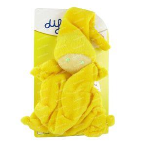 Difrax Dolls Teats Soft Yellow 1 item