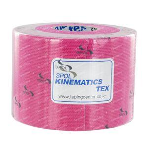 Kinematics Tex Muscle Tape Pink 5cm x 5m 1 item