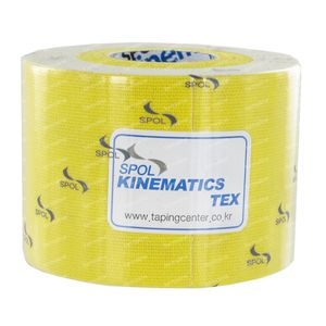 Kinematics Tex Muscle Tape Yellow 5cm x 5m 1 item