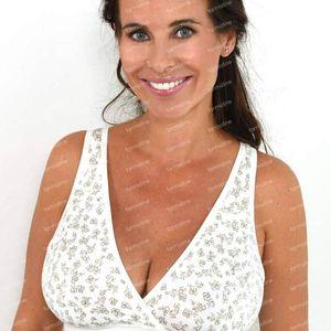 Mammae Soft Ivory Breastfeeding Bra D-E 85-90 1 item