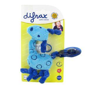 Difrax Pacifier Cord Giraffe Blue 1034 1 item