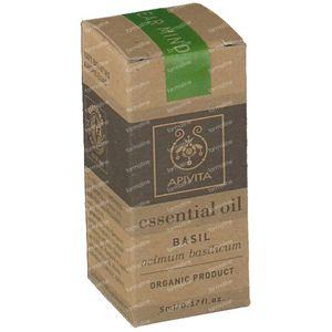 Apivita Essential Oil Basilic 5 ml bouteille