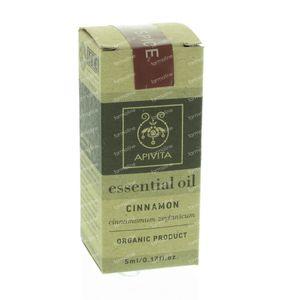 Apivita Essential Oil Kaneel 5 ml fles