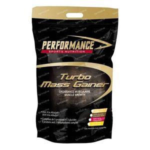 Performance Turbo Mass Gainer Banaan 5 kg