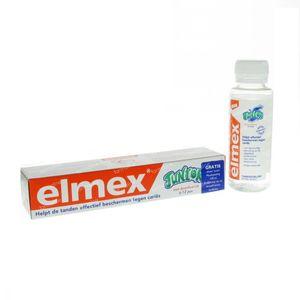 Elmex Junior + Gratis Mondspoeling 75 ml