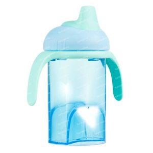 Difrax Anti-Fuite à Goblet Bec Souple Bleu 250 ml