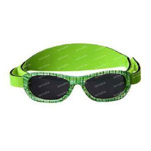 Difrax Zonnebril Baby Groen 1 stuk