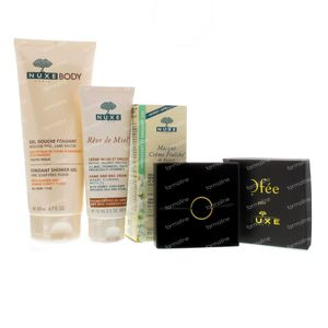 Nuxe Body Fondant Showergel + Rêve De Miel Hand & Nail Cream 275 ml