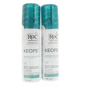 Roc Keops Spray Deodorant Fraîcheur Prix Réduit 200 ml spray