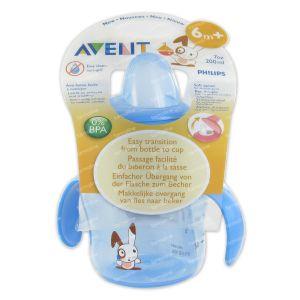 Avent Mug Anti-Leak +6m Blue 200 ml