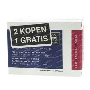 Apivita Haar Man-Vrouw 2 + 1 GRATIS 260 capsules
