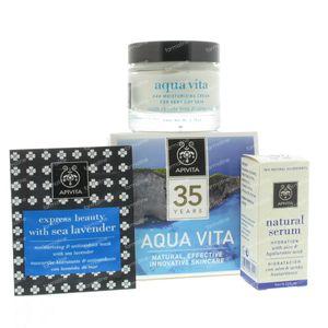 Apivita Aqua Vita Moisturizing Cream Dry Skin 71 ml