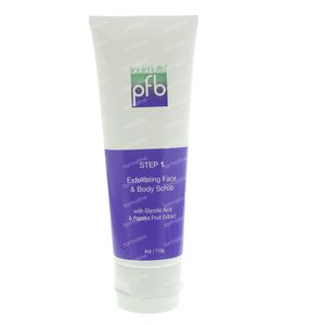 PFB Liquid Luffa Face & Body Scrub 113 g
