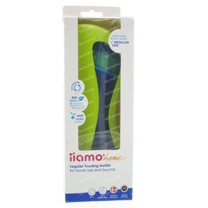 iiamo Home Zuigfles Classic Groen/Blauw 380 ml