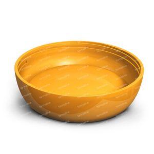 iiamo More Oranje Flessenbodem 1 stuk