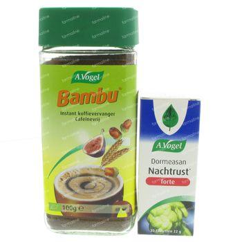 A.Vogel Bambu 100g + Dormeasan Forte 30 comprimés