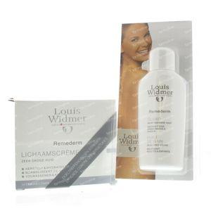 Louis Widmer Remederm Body Cream (Without perfume) + FREE Bath Oil 300 ml