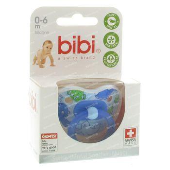 Bibi Collection 2010 Sucette 0-6 Mois Bleu 1 pièce