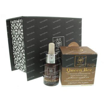 Apivita Queen Bee Crème Riche Visage Coffret Cadeau 65 ml