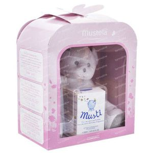 Mustela Musti Eau de Soin without Alcohol Giftbox Girl 100 ml